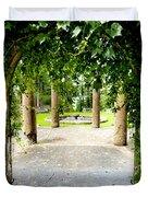 Garden Ruins Duvet Cover
