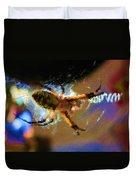 Garden Spider Duvet Cover