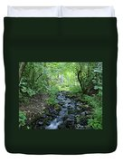 Garden Springs Creek In Spokane Duvet Cover