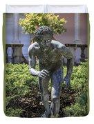 Garden Statue Ringling Museum  Duvet Cover