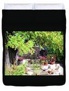 Garden Terrace Duvet Cover