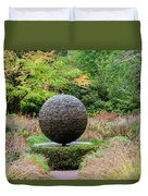 Garden Water Feature Duvet Cover