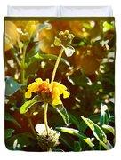 Garden Yellow Duvet Cover