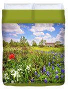 Gardener's Delight Duvet Cover