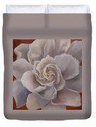 Gardenia  Bloom Duvet Cover