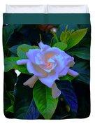 Gardenia Heart Warmth Duvet Cover