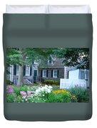 Gardens At The Burton-ingram House - Lewes Delaware Duvet Cover