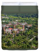 Gardens By The Bay Duvet Cover