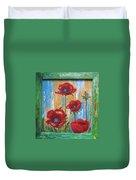 Gardens Poppy Duvet Cover
