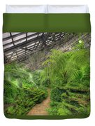Garfield Park Conservatory Path Chicago Duvet Cover