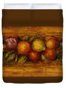 Garland Of Fruit And Flowers 1915 Duvet Cover