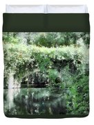Garlands And Arches Duvet Cover