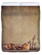 Garlic Cloves Duvet Cover