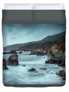 Garrapata Beach, Big Sur, California Duvet Cover