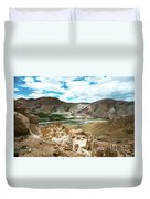 Garuda Valley Tibet Yantra.lv Duvet Cover