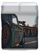 Gas And Truck Duvet Cover
