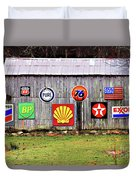 Gas From The Past Duvet Cover