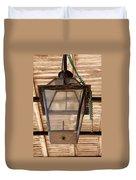 Gas Lamp French Quarter Duvet Cover