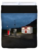 Gas Station In The Countryside, South Duvet Cover