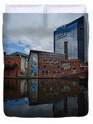 Gas Street Basin Birmingham Duvet Cover