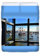 Gasparilla Through The Looking Glass Duvet Cover
