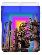 Gasworks Park 3 Duvet Cover