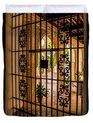 Gate - Alcazar Of Seville - Seville Spain Duvet Cover