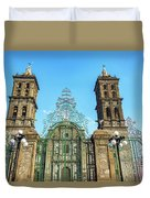 Gate And Cathedral Duvet Cover