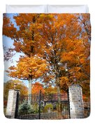 Gate And Driveway 3 Duvet Cover