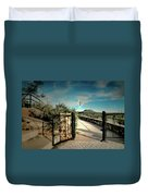 Gate To The Martyrs Duvet Cover