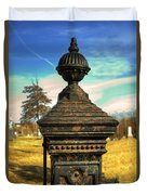 Gate Post Duvet Cover