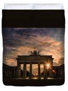Gate Sunset Duvet Cover