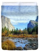 Gates Of The Valley Duvet Cover