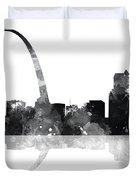 Gateway Arch St Louis Missouri Skyline Duvet Cover