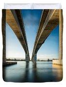 Gateway Bridge Brisbane Colour Duvet Cover