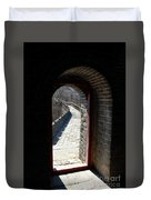 Gateway To Great Wall Duvet Cover