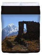 Gateway To The Gods 2 Duvet Cover by James Brunker
