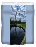 Gateway To The West Duvet Cover