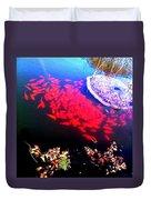 Gather Gold Fish Duvet Cover
