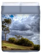 Gathering Storm Clouds Duvet Cover