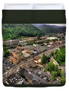 Gatlinburg Tennessee Duvet Cover