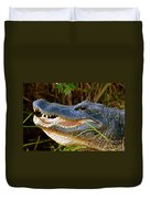 Gator Head Duvet Cover