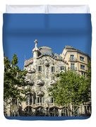 Casa Batillo - Gaudi Designed  - Barcelona Spain Duvet Cover