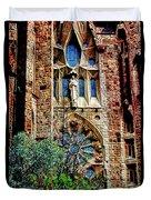 Gaudi Barcelona Duvet Cover