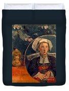 Gaugin: Belle Angele, 1889 Duvet Cover