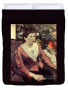 Gaugin: Marie Derrien, 1890 Duvet Cover