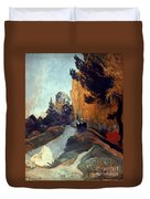 Gauguin: Alyscamps, 1888 Duvet Cover