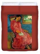 Gauguin: Reverie, 1891 Duvet Cover