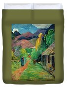 Gauguin Tahiti 19th Century Duvet Cover