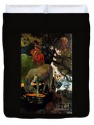 Gauguin: White Horse, 1898 Duvet Cover
